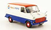 Ford Transit   Kastenwagen Pepsi Cola 1971 Minichamps 1/43