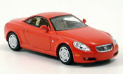 Lexus SC 430 Cabriolet red 2001