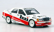 Mercedes 190 E  DTM Commodore Weidler 1986 Minichamps