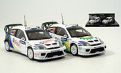 Ford Focus RS WRC Doppelsieg Mexico 2er Set 2004