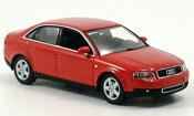Audi A4   rouge 2000 Minichamps 1/43