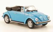 Volkswagen Coccinelle 1303 convertible blue 1974