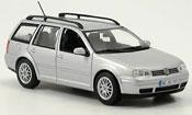 Volkswagen Golf III  variant grise metallisee Minichamps