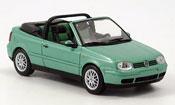 Volkswagen Golf III  cabriolet  verte 1999 Minichamps