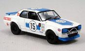 Nissan Skyline 2000  GTR racing bleu Kyosho 1/43
