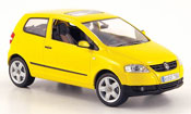 Volkswagen Fox diecast yellow 2005
