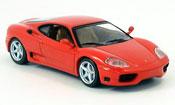 Ferrari 360 Modena  rouge coupe 2003 MCW