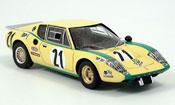 Ligier JS2 miniature LeMans No. 21 Francois 1972