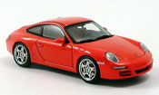 Porsche 997 Carrera  red Autoart