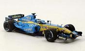 Renault F1 f1 r25 fisica 2005