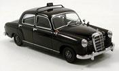 Mercedes 180 miniature Taxi noire 1953