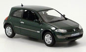 Renault Megane miniature verte