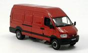 Renault Mascott   red Norev