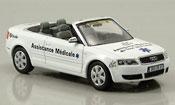 Audi A4 cabriolet miniature Assistance Medicale