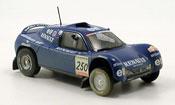 Renault Megane   schlesser dakar avec schmutzeffekt 2000 Norev 1/43