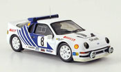 Ford RS 200 miniature Rallye Schweden Grundel Melander 1986