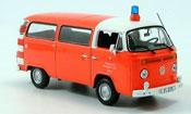 Volkswagen Combi t2 bus pompier frankfurt 1976