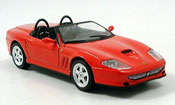 Ferrari 550 Barchetta miniature rouge 2000