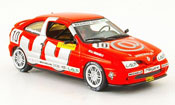 Renault Megane Trophy  coupe no.10 megane portugal 1998 Onyx 1/43