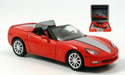 Chevrolet Corvette C6 street Appearence red 2005