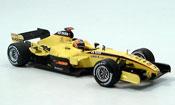 Toyota F1 miniature jordan ej 15 d.monteiro dritter platz g.p. usa 2005