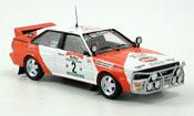 Audi Quattro Rallye Cote D?Ivoire No.2 Mouton Pons