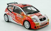 Citroen C2 miniature S1600 no.41  rallye monte carlo 2005