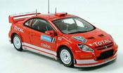 Peugeot 307 miniature WRC no.8 martin park  rallye schweden 2005