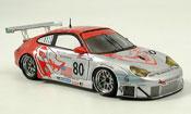 Porsche 996 diecast GT3 RSR No. 80 Le Mans 2005
