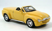 Chevrolet SSR yellow 2005