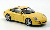 Porsche 997 Carrera  yellow Autoart