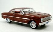 Ford Falcon miniature Coupe braun 1963