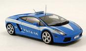 Lamborghini Gallardo police italienne blue