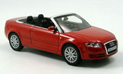Audi A4 cabriolet rosso