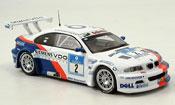 Bmw M3 E46 GTR No. 2 Lamy Huisman Nurburgring 2005 IXO 1/43