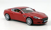 Aston Martin DB9 miniature rouge 2003