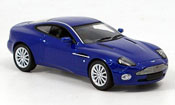 Aston Martin Vanquish   v12  blau Minichamps