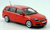Opel Astra   caravan rouge 2004 Minichamps 1/43