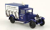 Citroen C4   fourgon michelin blue 1930 Solido