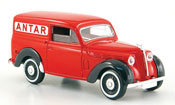 Renault Juvaquatre   lieferwagen antar red 1952 Solido