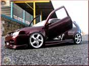 Volkswagen tuning Golf 4 GTI violette jantes porsche 17 pouces kit carrosserie
