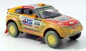 Mitsubishi Pajero Evolution miniature MPR11 avec Schmutzeffekt 2005
