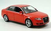 Audi A4   rosso 2004 Minichamps