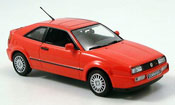 Volkswagen Corrado miniature G60 rouge 1990