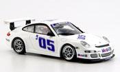 Porsche 997 GT3 Cup 2005 white Prasentation