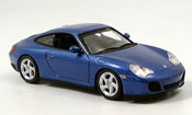 Porsche 996 Carrera  4S blue 2001 Minichamps