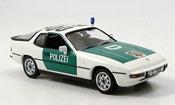 Porsche 924   Autobahnpolice Dusseldorf Minichamps