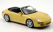Porsche 997 Carrera 911 Carrera S Cabrio yellow 2005