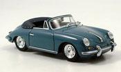 Porsche 356 1960 B Cabrio blue