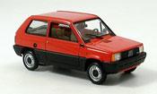 Fiat Panda red 1980
